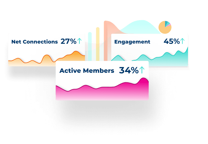 Engagement metrics from a mobilize community